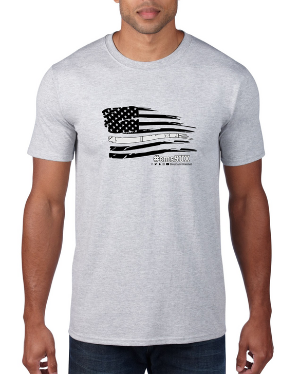 #emsSUX Flag - Siouxland Scanner  T-Shirt