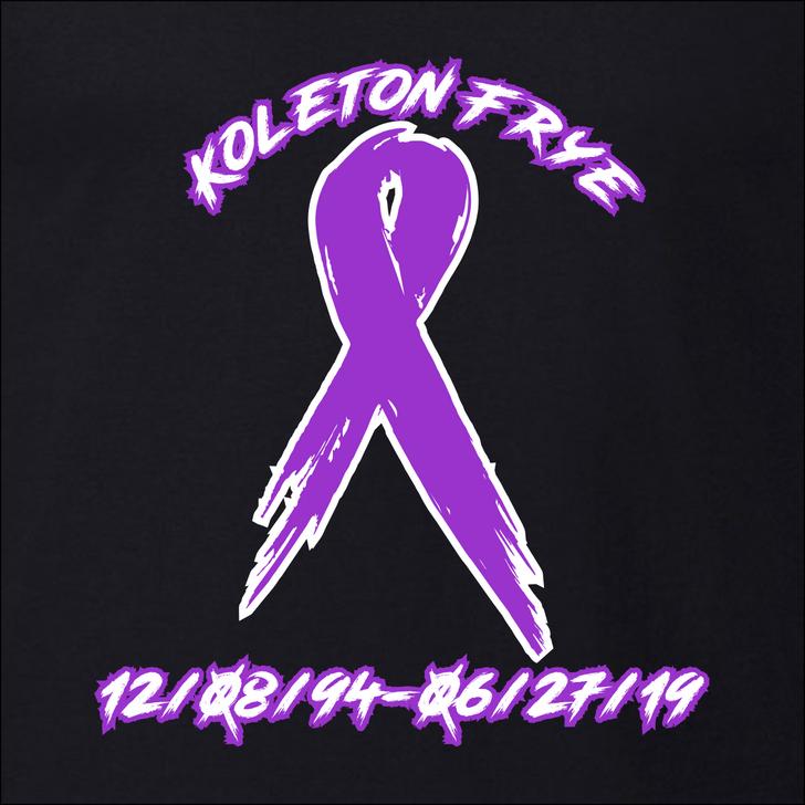 Koleton Frye Memorial Shirt