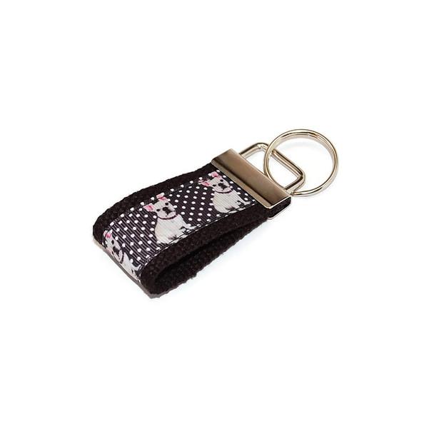 French Bulldog Mini Key Fob