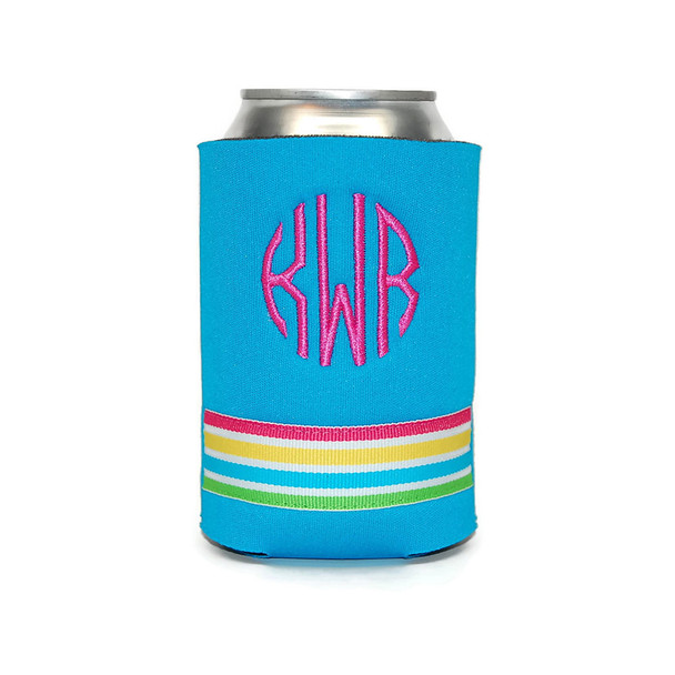 Pink Rainbow Personalized Can Cover