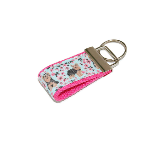 Yorkshire Terrier Yorkie Mini Keychain