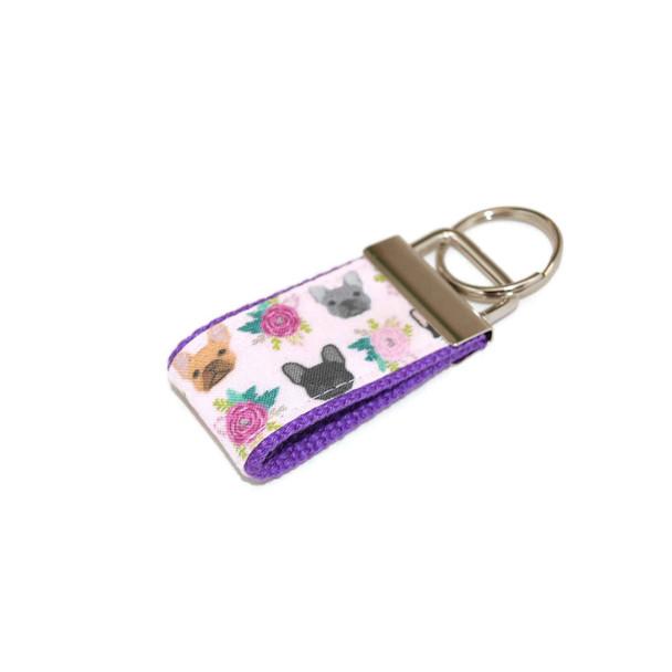 Frenchie French Bulldog Mini Keychain