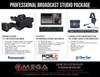 Panasonic Professional HD Broadcast Studio Package
