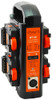 Dynacore DT-4S 2-Sided Portable Quad Simultaneous Charger for DPM Mini Series Batteries* and Power Supply