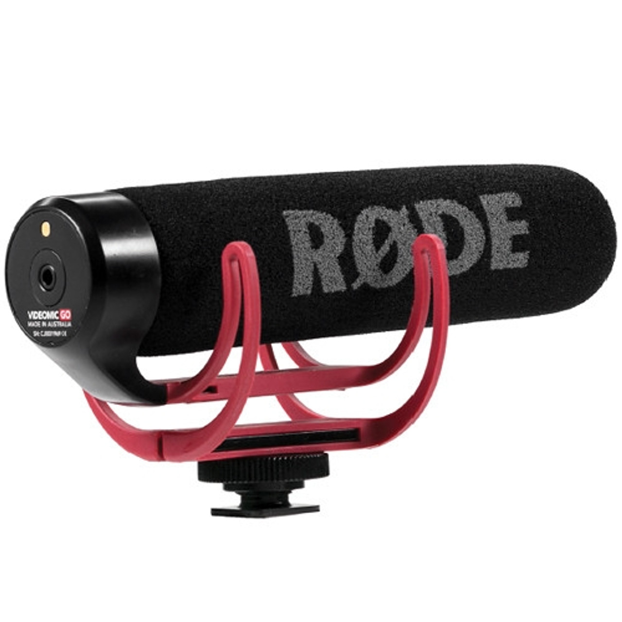 Rode VideoMic GO Lightweight On-Camera Microphone with Integrated Rycote Shoc...