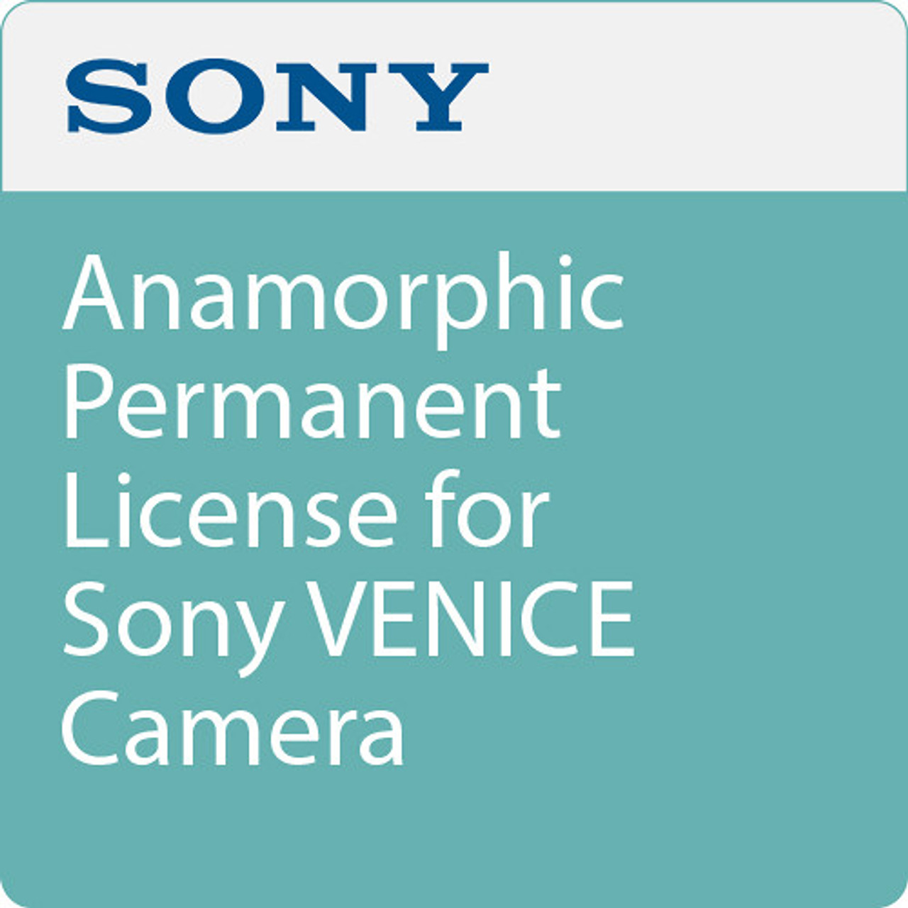 Sony CBKZ-3610A Anamorphic Software License for VENICE