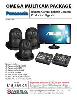 Panasonic Remote Control Robotic Camera Production Flypack 1