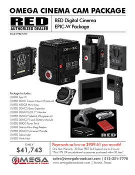 RED Digital Cinema EPIC-W Package