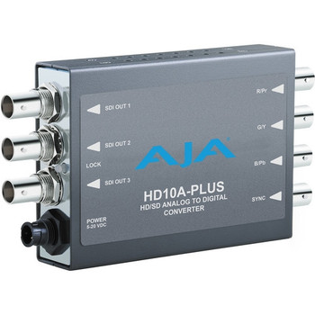 AJA HD10A-Plus Analog to HD/SD-SDI Mini-Converter