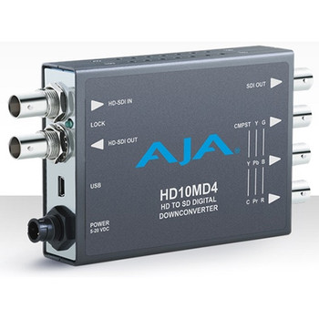 AJA HD10MD4 HD-SDI to SD-SDI Digital and Analog Down-Converter
