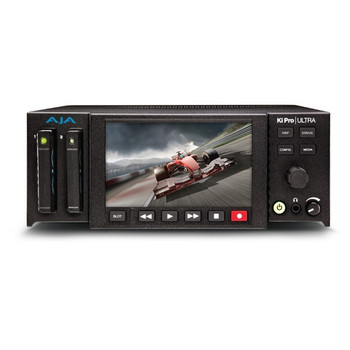 AJA Ki Pro Ultra 4K/UltraHD 3G-SDI/HDMI Recorder Player Monitor