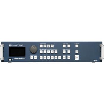Analog Way SMX250 10x2 Seamless Matrix Scaler with Native Hi-Res Output