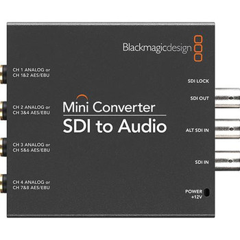 Blackmagic Design CONVMCSAUD SDI to Audio Mini Converter