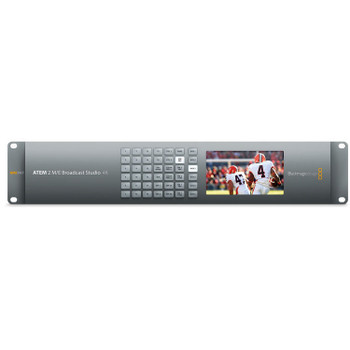 Blackmagic Design SWATEMRRW2ME4K  ATEM 2 M/E Broadcast Studio 4K Switcher