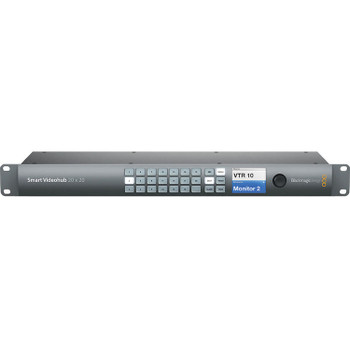 Blackmagic Design VHUBSMART6G2020 Smart Videohub 20 x 20 6G-SDI
