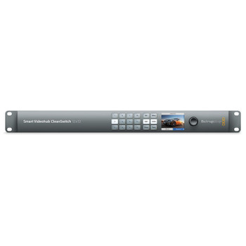 Blackmagic Design VHUBSMTCS6G1212 Smart Videohub CleanSwitch 12 x 12 6G-SDI