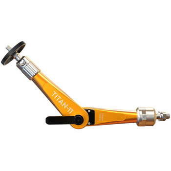 "Bright Tangerine B3000.1002 Titan Support Arm with Pivot Head 3/8"" to 1/4"" Mount (Orange)"