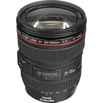 Canon EF 24-105mm f/4L IS USM Lens (0344B002) - DISCONTINUED