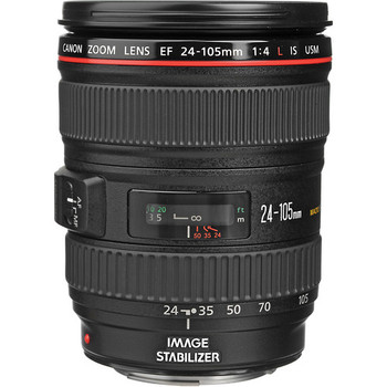 Canon 0344B002 EF 24-105mm f/4L IS USM Lens
