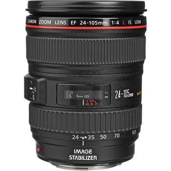 Canon 0344B002 EF 24-105mm f/4L IS USM Lens