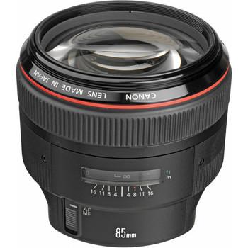Canon EF 85mm f/1.2L II USM Lens (1056B002) - DISCONTINUED