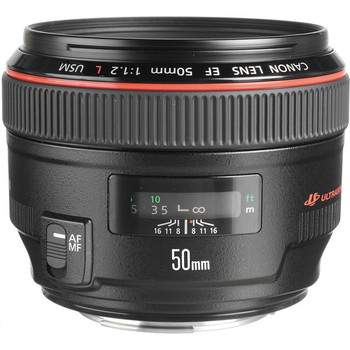 Canon EF 50mm f/1.2L USM Lens (1257B002)