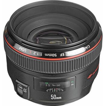 Canon 1257B002 EF 50mm f/1.2L USM Lens