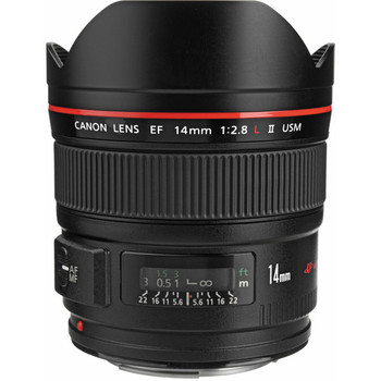 Canon EF 14mm f/2.8L II USM Lens (2045B002)