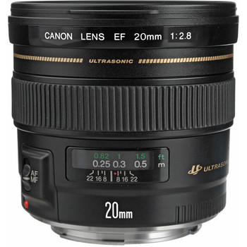 Canon 2509A003 EF 20mm f/2.8 USM Lens -DISCONTINUED