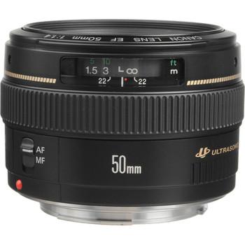 Canon 2515A003 EF 50mm f/1.4 USM Lens