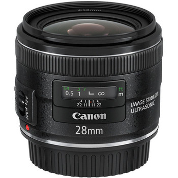 Canon EF 28mm f/2.8 IS USM Lens (5179B002) - DISCONTINUED