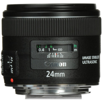 Canon 5345B002 EF 24mm f/2.8 IS USM Lens