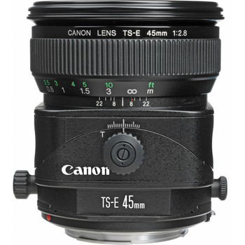 Canon 2536A004 TS-E 45mm f/2.8 Tilt-Shift Lens