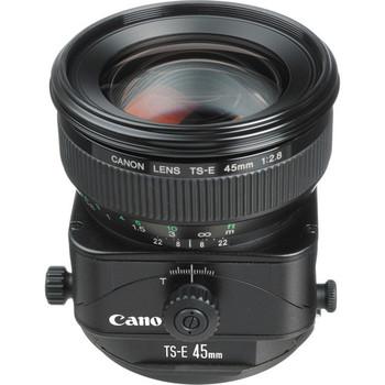 Canon 2536A004 TS-E 45mm f/2.8 Tilt-Shift Lens - DISCONTINUED