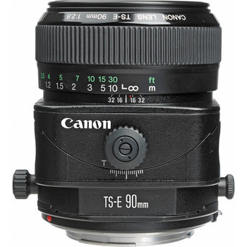 Canon 2544A003 TS-E 90mm f/2.8 Tilt-Shift Lens