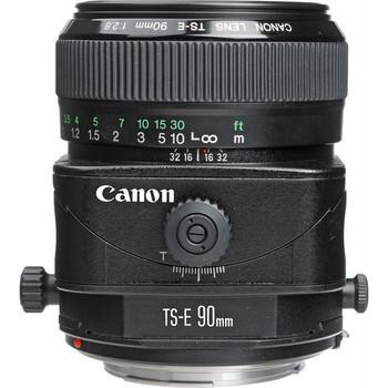 Canon TS-E 90mm f/2.8 Tilt-Shift Lens (2544A003)