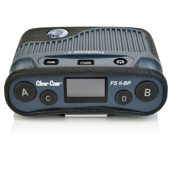 Clear-Com FSII-BP19-X4-US FreeSpeak II 1.9GHz Digital Wireless Belt Pack with Li-Ion battery