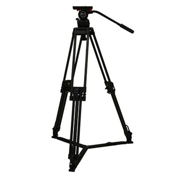 Contour System CT57K Video 57 Fluid Head with 2-Stage 100mm Carbon Fiber Tripod