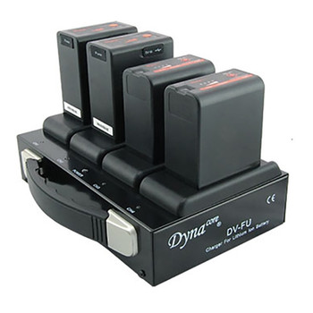 Dynacore DV-FU Quad Charger for U-Series Sony Batteries