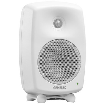 "Genelec 8330A SAM Series 5"" 2-Way 100W Active Studio Monitor (Single, White)"
