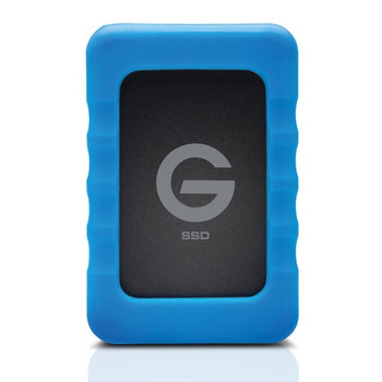 G-Technology 0G04755 500GB G-DRIVE ev RaW USB 3.1 Gen 1 SSD with Rugged Bumper
