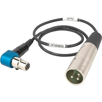 "Lectrosonics MCSR/5PXLR1 Right-Angle TA5-Female to XLR Cable for Lectrosonics SR Receiver 20"" (508mm)"