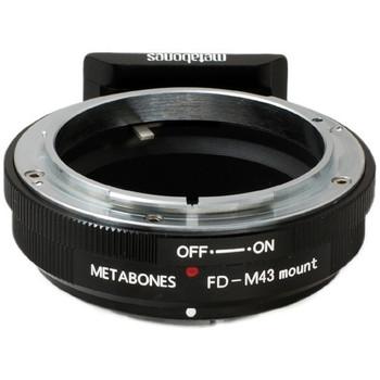 Metabones MBEFM43BM1 Canon FD Mount Lens to Micro Four Thirds Lens Mount Adapter (Black)