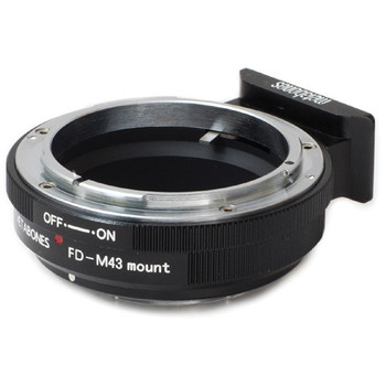 Metabones MBEFM43BM1 Canon FD Mount Lens to Micro Four Thirds Lens Mount Adapter (Black)