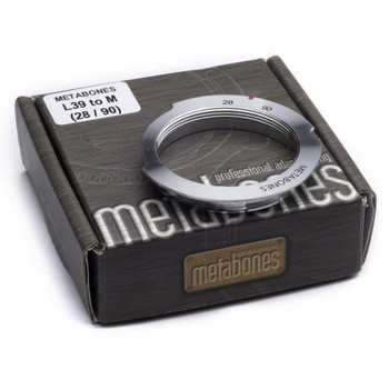 Metabones MB_L39-M-28/90 L39 Mount 28-90mm Lens to Leica M Camera 6-Bit Lens Mount Adapter