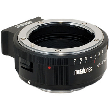 Metabones MB_NFG-E-BM1 Nikon G Lens to Sony NEX Camera Lens Mount Adapter (Matte Black)
