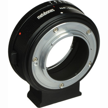 Metabones MB_NFG-M43-BM1 Nikon G Lens to Micro Four Thirds Lens Mount Adapter (Matte Black)