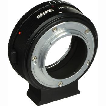 Metabones MB_NFG-M43-BM1 Nikon G Lens to Micro Four Thirds Lens Mount Adapter (Matte Black)
