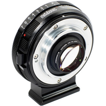 Metabones MBSPNFGM43BM2 Speed Booster XL 0.64x Adapter for Nikon G Lens to Select Micro Four Thirds-Mount Cameras