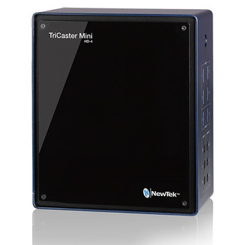 Newtek TCMiniHD4 TriCaster Mini HD-4; 4-HDMI Input Switcher, Graphics, Streaming System  (No Built-in Screen) - DISCONTINUED